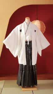 袴×白|紳士 男性袴