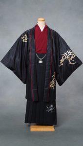 袴×黒|紳士 男性袴