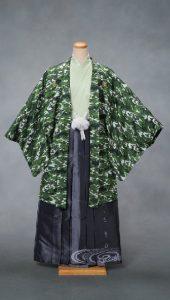 袴×緑|紳士 男性袴
