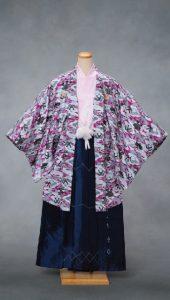 袴×ピンク|紳士 男性袴