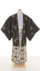 袴×白-黒|紳士 男性袴