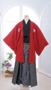 袴×黒-赤|紳士 男性