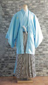 袴×水色|紳士 男性