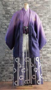 袴×紫|紳士 男性