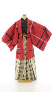 袴×赤|紳士 男性