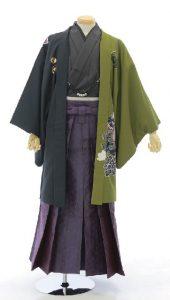 袴×黒-緑|紳士 男性