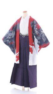 袴×紺-赤|紳士 男性
