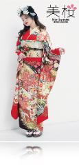 今田美桜×振袖-赤|今田美桜ちゃん着用の振袖をご紹介