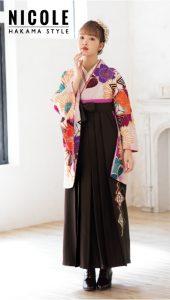 藤田ニコル×卒業袴-ピンク|藤田ニコル(にこるん)着用の袴をご紹介