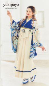 ゆきぽよ×卒業袴-青|ゆきぽよ着用の袴をご紹介