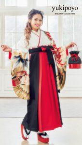 ゆきぽよ×卒業袴-白|ゆきぽよ着用の袴をご紹介