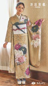 池田美優 振袖|成人式の振袖ご紹介IM-133