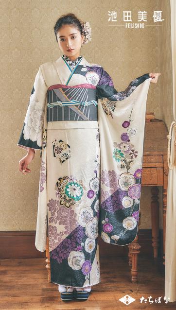 池田美優 振袖 成人式の振袖ご紹介IM-948