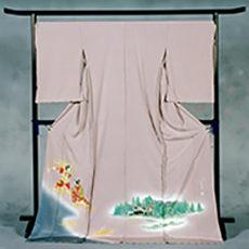 106 大鹿村 「大鹿歌舞伎」 色留袖