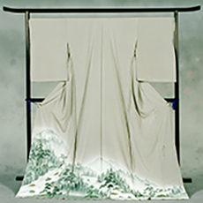 110 飯田市 「天竜川下り」 色留袖