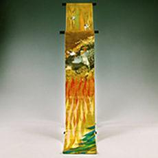 115 南信濃村 「霜月祭」 袋帯
