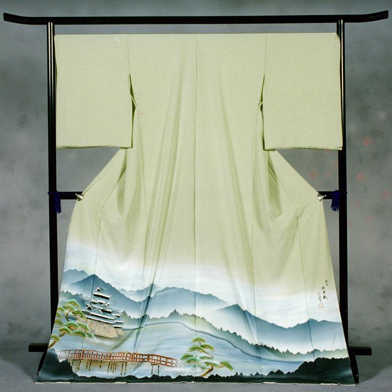 69 松本市 「松本城」 色留袖