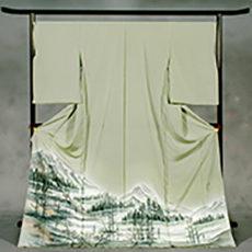 72 安曇村 「上高地」 色留袖