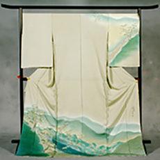 80 木曽福島町 「関所・木曽踊り」 訪問着